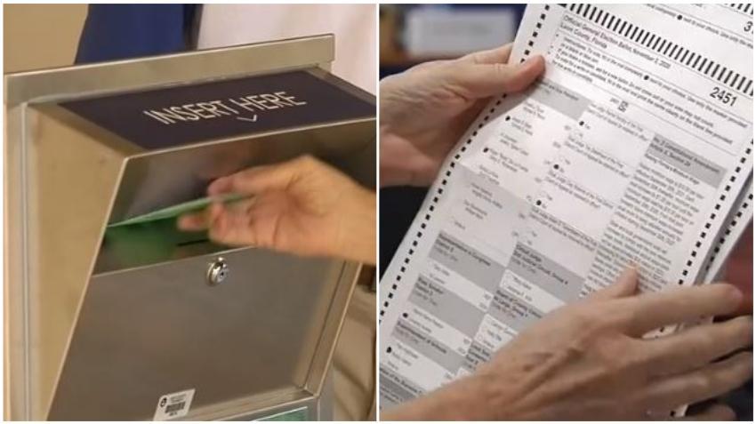 Separan 21,000 boletas electorales en Florida por problemas con las firmas