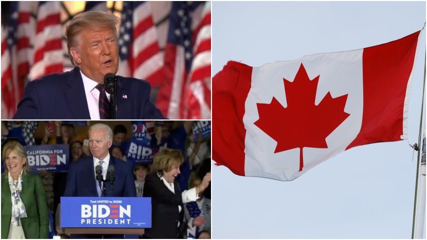 Las búsquedas en Google de como mudarse a Canadá aumentaron tras el primer debate presidencial entre Trump y Biden