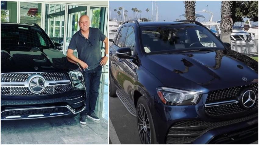 Presentador cubano Carlos Otero presume de su nuevo auto