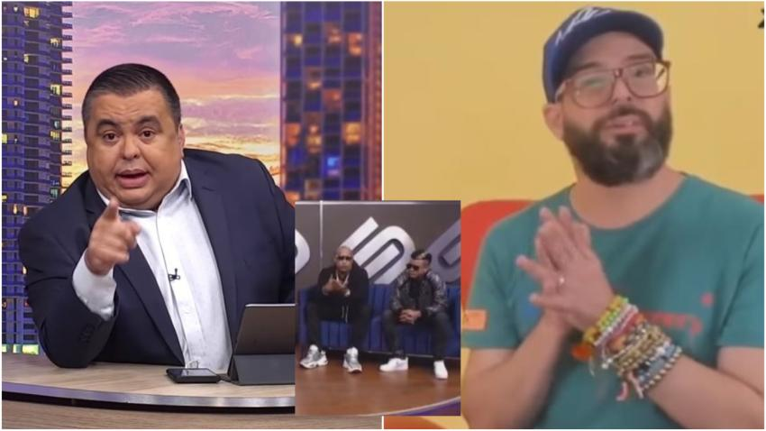 Carlucho se molesta con Otaola por las críticas tras la entrevista a Gente de Zona