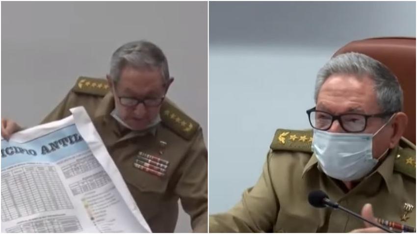 Raúl Castro reaparece en televisión tras rumores sobre su estado de salud