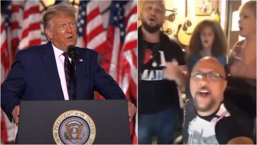 Presidente Trump agradece a Los Tres de la Habana la canción dedicada a votar por él