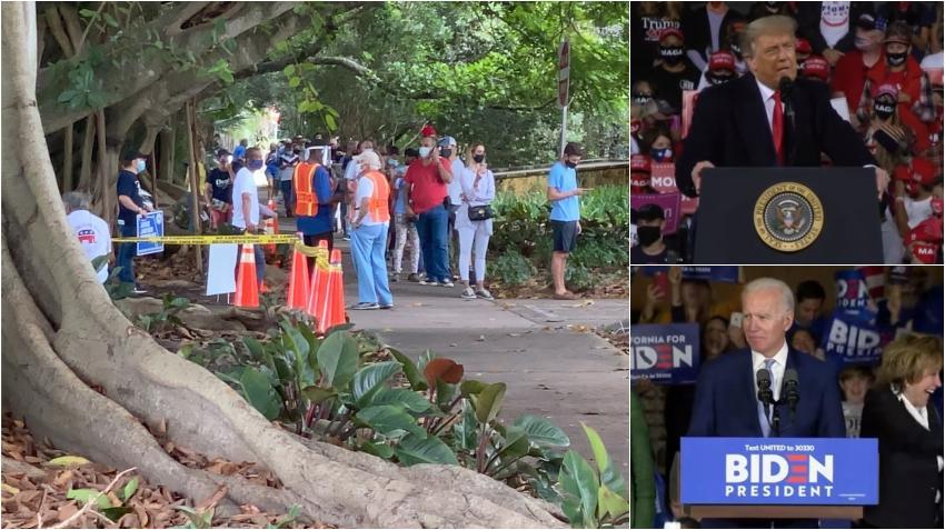 Participación masiva en las elecciones adelantadas en Miami-Dade