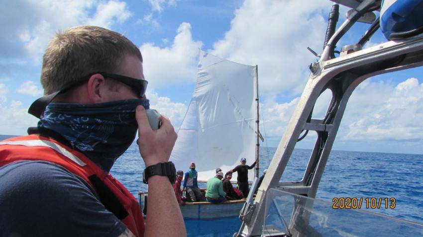 Guardia Costera de Estados Unidos deportó a Cuba a 13 balseros cubanos interceptados cerca de Bahamas