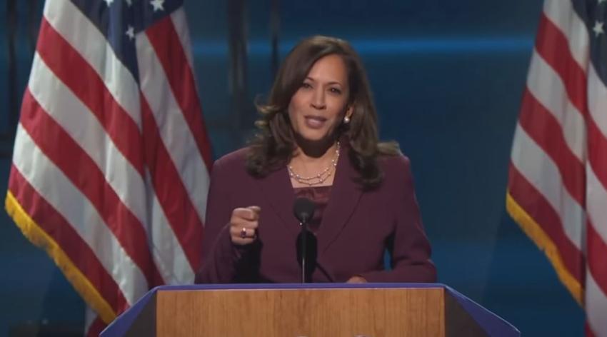 Kamala Harris se convierte en la primera mujer vicepresidenta electa de los EEUU, la primera mujer negra y de origen surasiático en ocupar el cargo