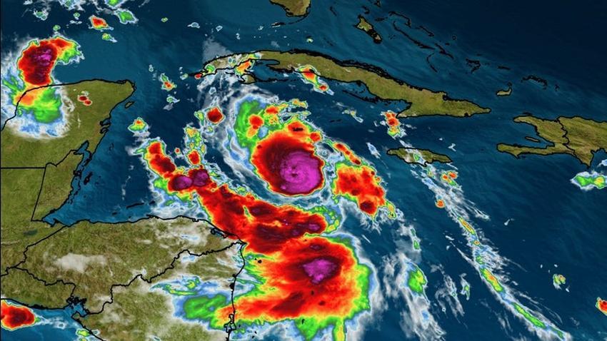Huracán Delta podría afectar el occidente de Cuba como una poderosa tormenta
