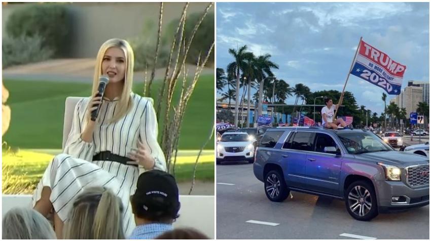 Ivanka Trump viene a Miami buscando el voto de las mujeres latinas