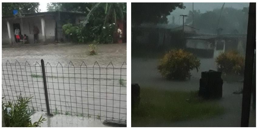 Inundaciones al centro de Cuba por fuertes precipitaciones
