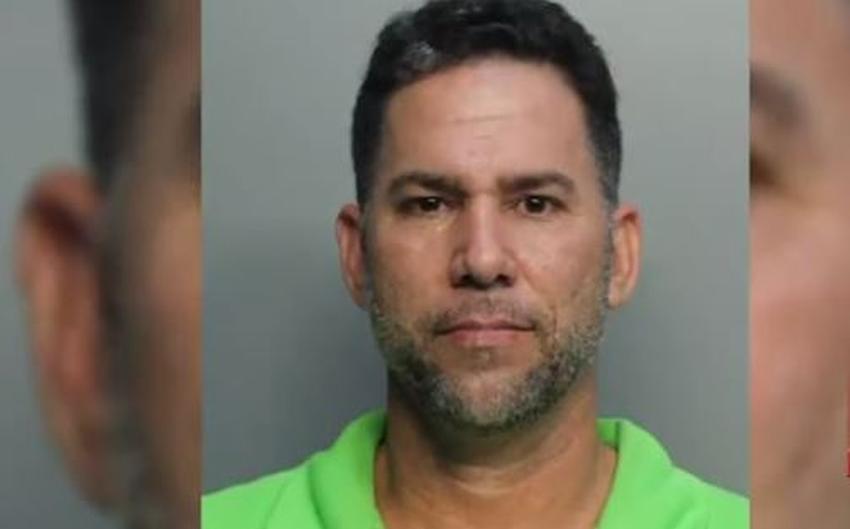 Cubano de Miami que disparó contra el carro de su mujer en el Palmetto también la agredió con un machete por pedirle el divorcio