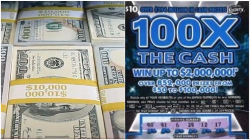 Una mujer de Florida gana $2 millones con un nuevo raspadito de la Lotería
