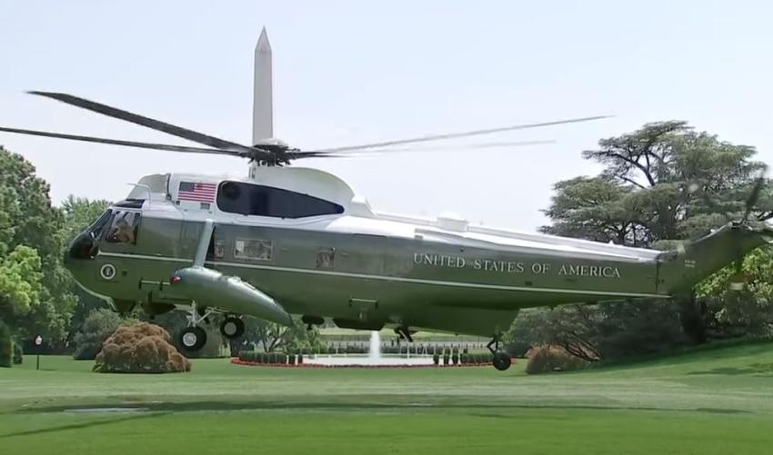 Presidente Trump será transportado en helicóptero al hospital tras presentar síntomas