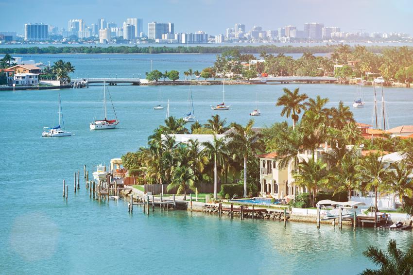 Las ventas de casas de lujo aumentan en el Sur de la Florida