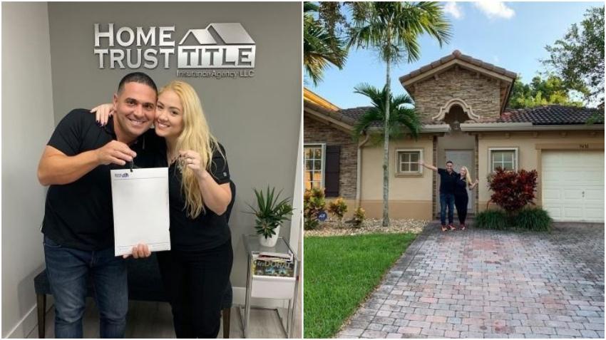 Actor cubano Mijail Mulkay compra junto a su esposa su primera casa en Miami