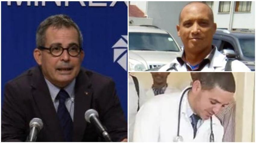 Director de Prensa del MINREX desmiente informaciones de prensa sobre la liberación de los médicos cubanos secuestrados