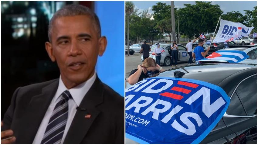 Expresidente Barack Obama visitará Miami para apoyar al candidato Joe Biden