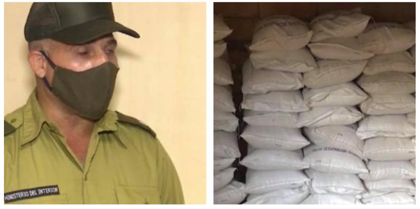 El MININT decomisa 86 cerdos y 200 sacos de arroz a un cubano en la provincia Artemisa, mientras los verdaderos crímenes continúan impunes