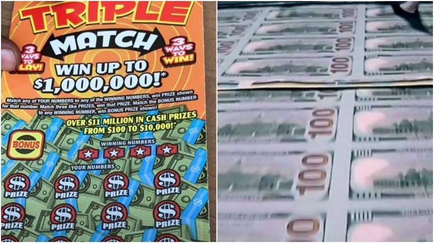 Lotería de la Florida anuncia otro ganador; hombre gana $1 millón con un raspadito de $5 dólares