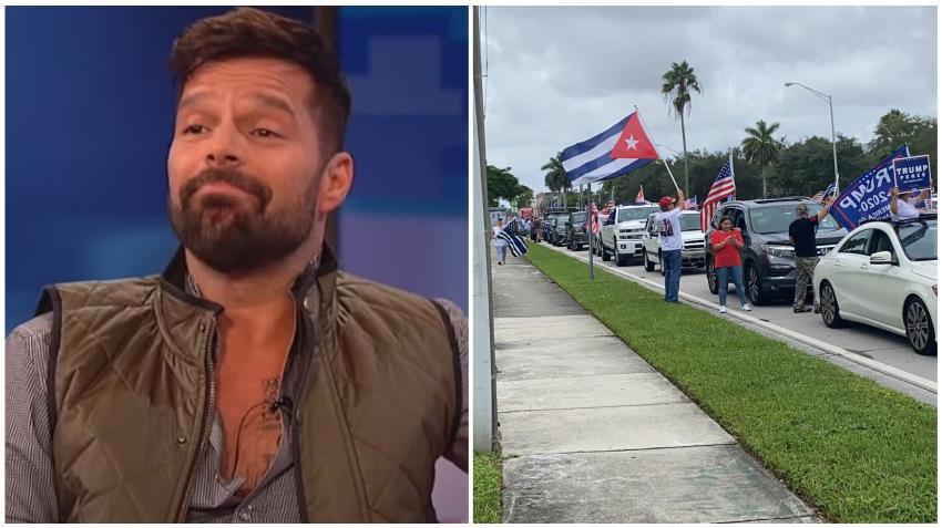 Ricky Martin asegura que es triste ver a latinos apoyando a Trump