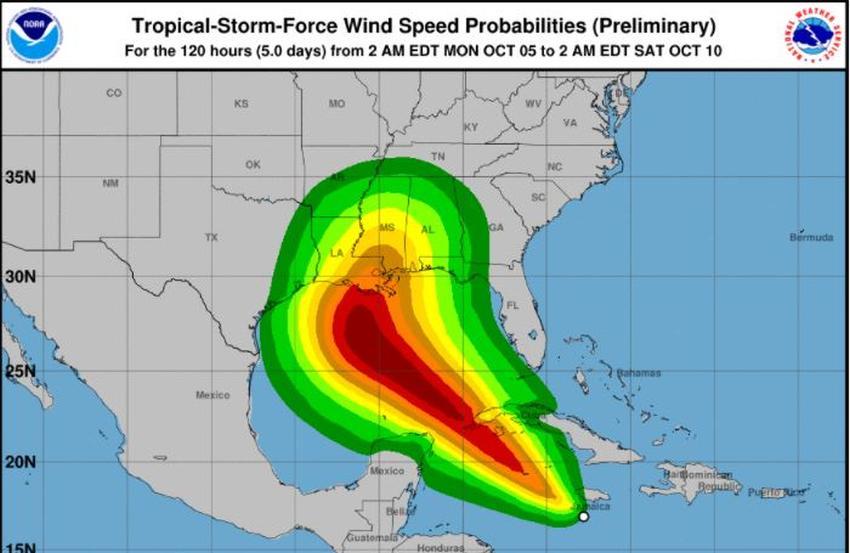 Se forma la tormenta Delta en el Caribe amenazando la región occidental de Cuba como posible huracán