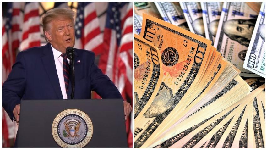 Presidente Trump pide al congreso que modifique el cheque de $600 dólares por uno de $2000 dólares y crítica muchos de los gastos de la ley