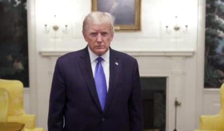 """Presidente Trump habla antes de irse al hospital: """"Creo que estoy bastante bien"""""""