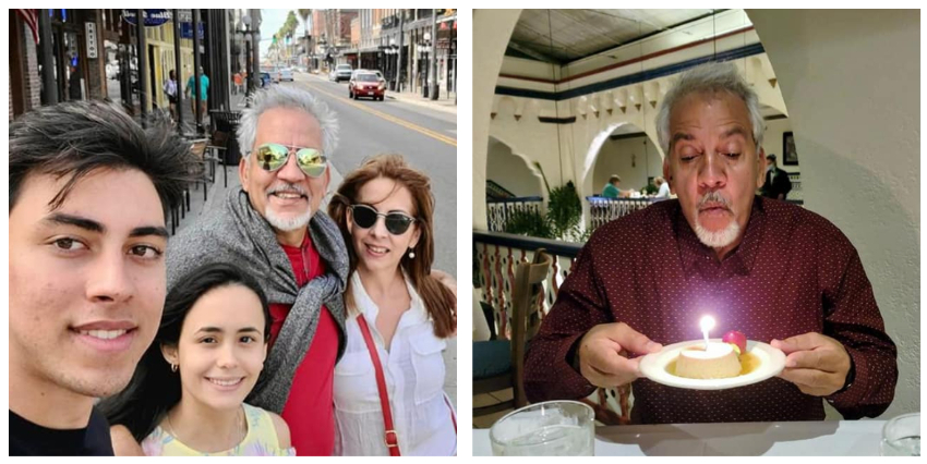 Actor cubano Armando Tomey festeja su cumpleaños en Tampa