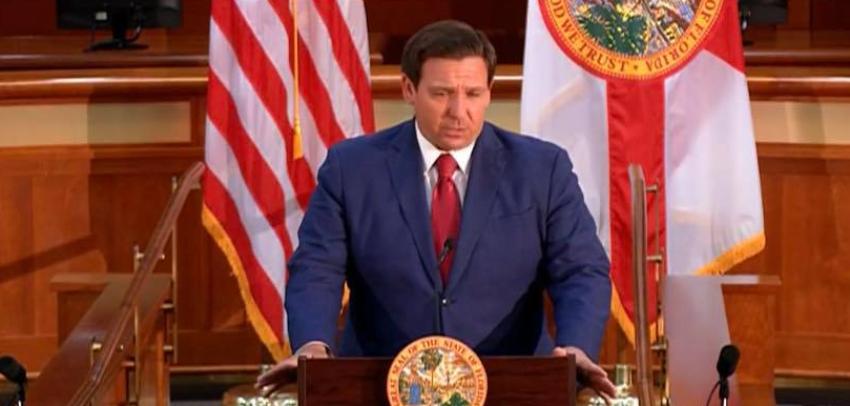 Gobernador DeSantis criticó a los medios por demorarse reconocer la victoria de Trump en Florida