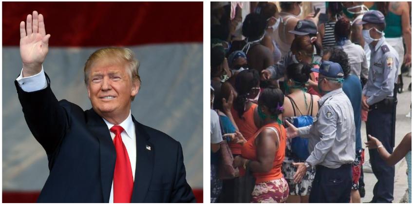 """Cubano envía mensaje al pueblo: """"Trump no tiene la culpa de lo que sufre nuestra gente"""""""