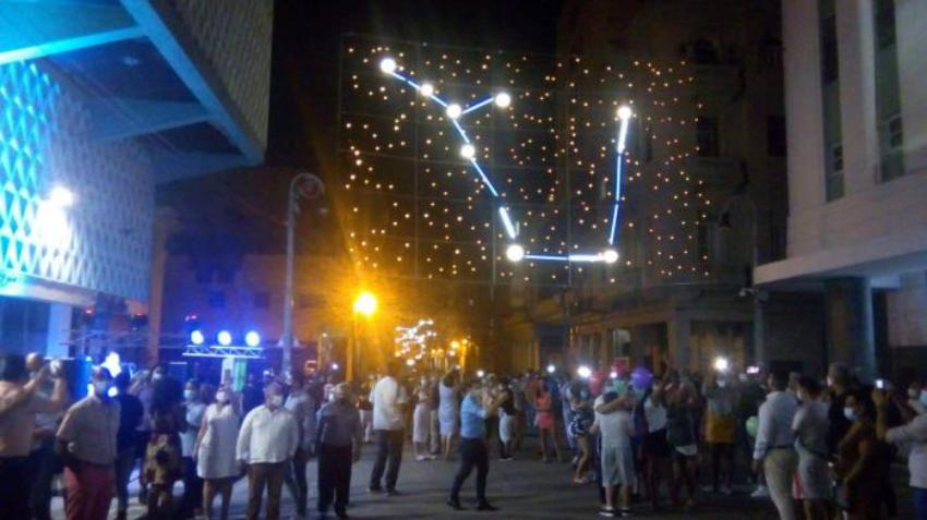 Celebración del 501 aniversario de La Habana en tiempos de pandemia
