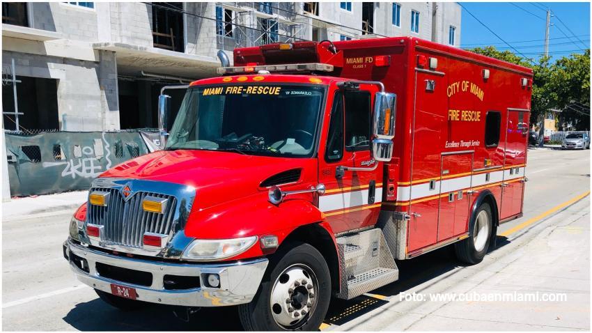 Niña de 2 años sobrevive tras caer de un cuarto piso en un edificio en Miami