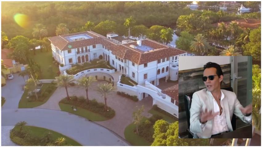 Marc Anthony pone a la venta su casa en Miami por 27 millones dólares
