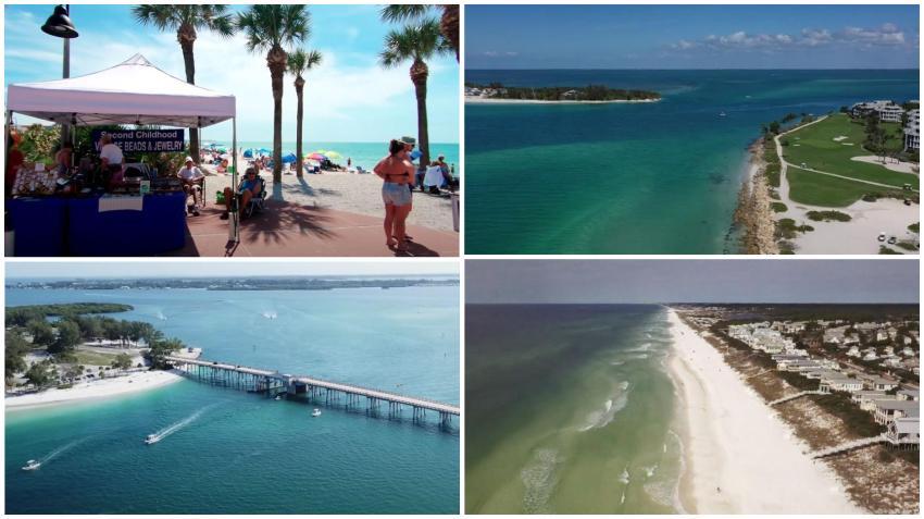 Pequeñas ciudades de playa en Florida