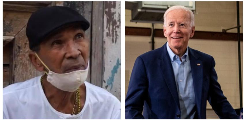 Habaneros prefieren a Biden y seguir callados sin criticar al régimen