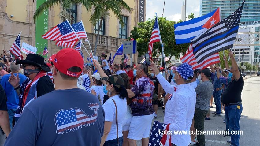 Cubanos convocan a manifestación en Miami en apoyo al Movimiento de San Isidro