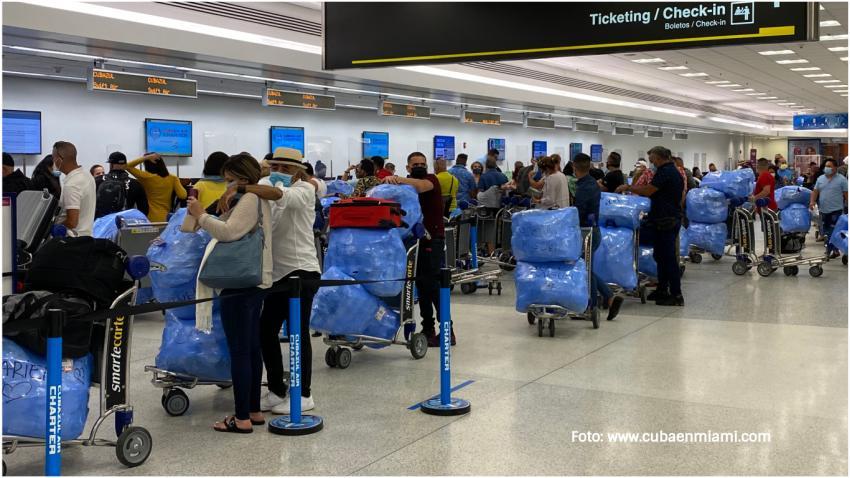 Gobierno de Cuba anuncia reducción de los vuelos desde Estados Unidos y otros países debido al aumento de casos de Coronavirus