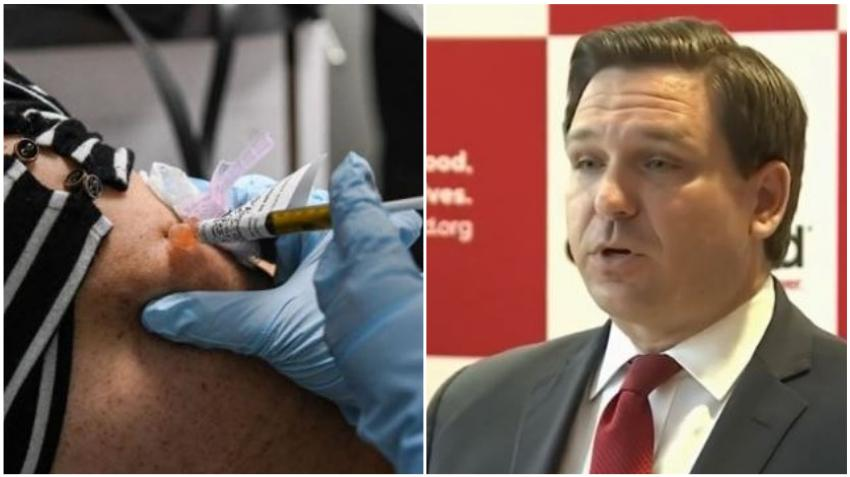 Gobernador DeSantis asegura que la vacuna del Covid-19 no será obligatoria en Florida