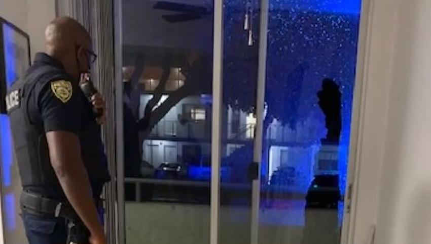 Disparan con perdigones a través de una ventana en un apartamento de Miami Beach; la policía investiga el incidente