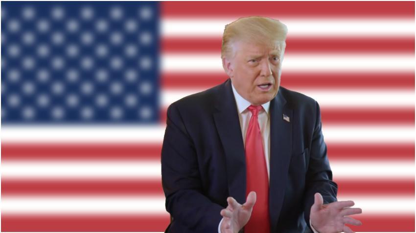 """Donald Trump se muestra optimista: """"Está luciendo muy bien en todo el país"""""""