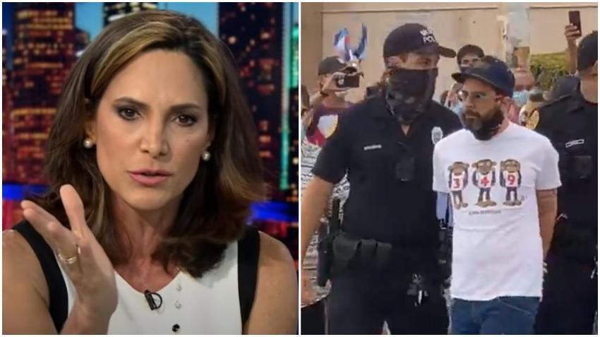 Congresista cubanoamericana, María Elvira Salazar, interviene por la liberación de Otaola luego de su arresto en la Calle 8
