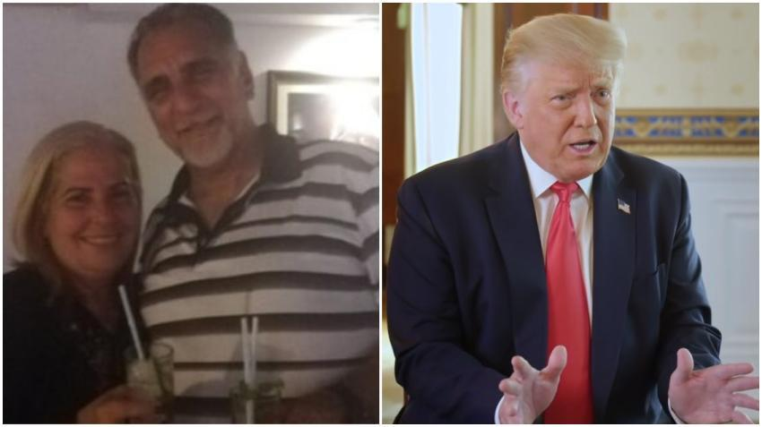"Espía cubano René González celebrando: ""Bye bye Mr. Trump"""