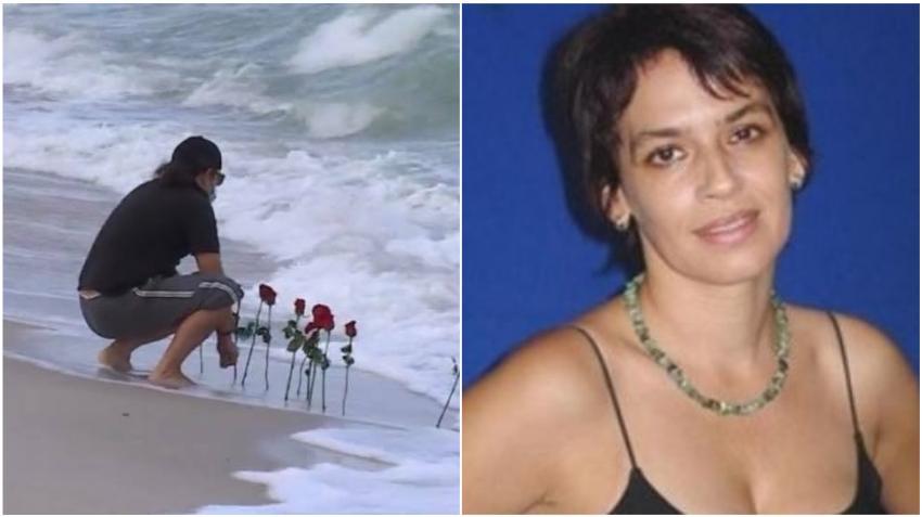 Pareja de la actriz cubana Broselianda Hernández fallecida en Miami Beach le llevó flores al lugar donde fue encontrada