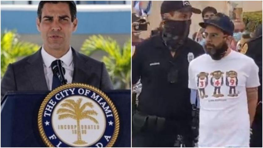 Alcalde de Miami Francis Suárez promete una investigación profunda sobre la detención injustificada del presentador cubano Alexander Otaola