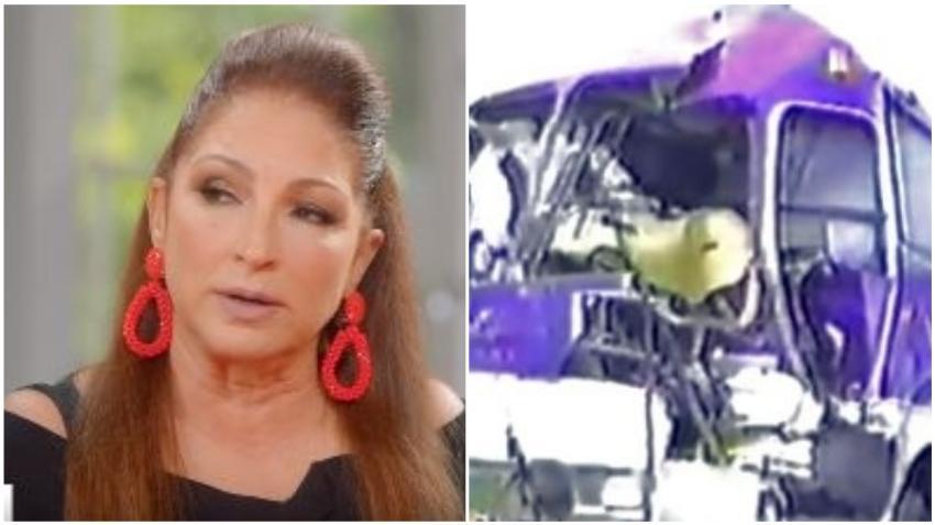 Cubana Gloria Estefan revela detalles del accidente que casi le cuesta la vida