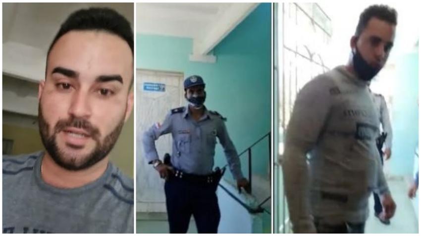 Seguridad del Estado irrumpe en la vivienda del médico cubano Manuel Guerra y se lo llevan detenido forzosamente