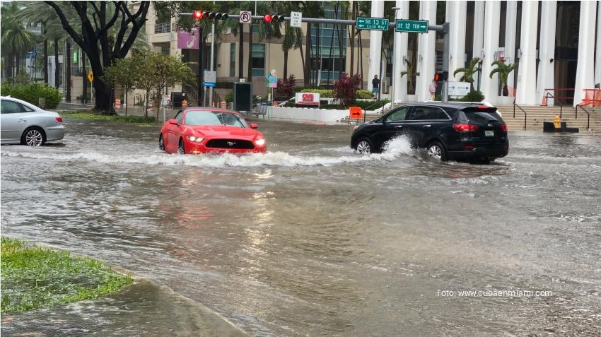 Anuncian alerta de inundaciones repentinas para varias zonas de Miami-Dade