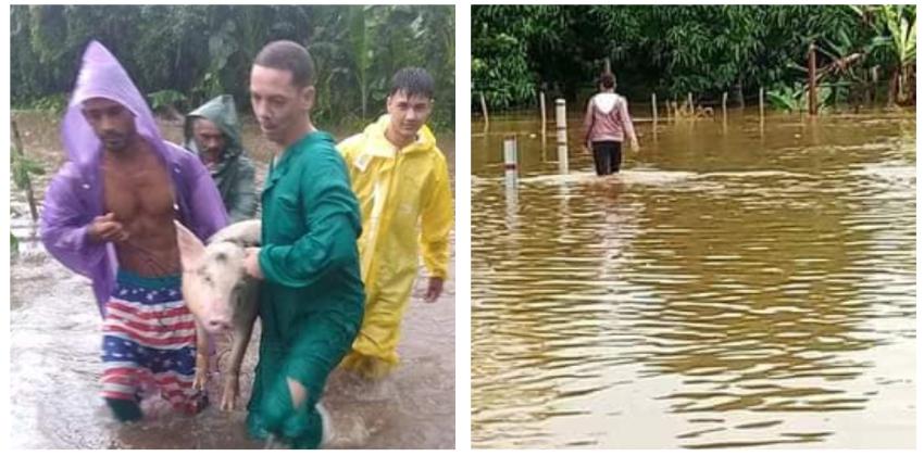 Eta deja inundaciones y afectaciones eléctricas en Ciego de Ávila