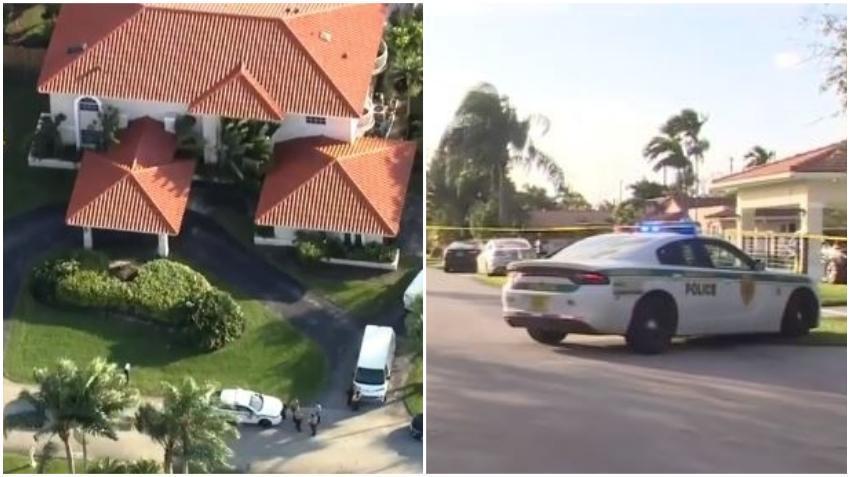 Hallan muerto a una mujer y un hombre dentro de una casa en el suroeste de Miami Dade
