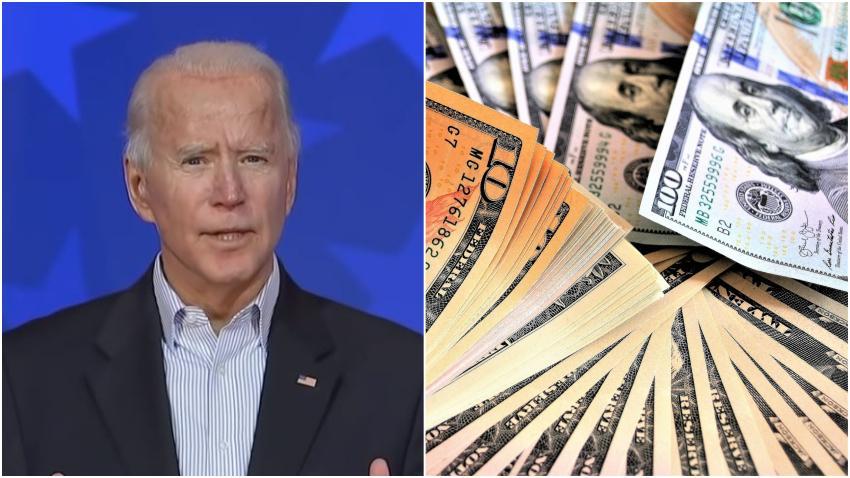 Biden promete que impulsará una tercera ronda de cheques de ayuda económica cuando llegue a la Casa Blanca