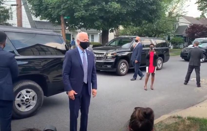 Servicio Secreto de Estados Unidos aumenta la seguridad  alrededor de Joe Biden a medida que se acerca a ser declarado presidente electo