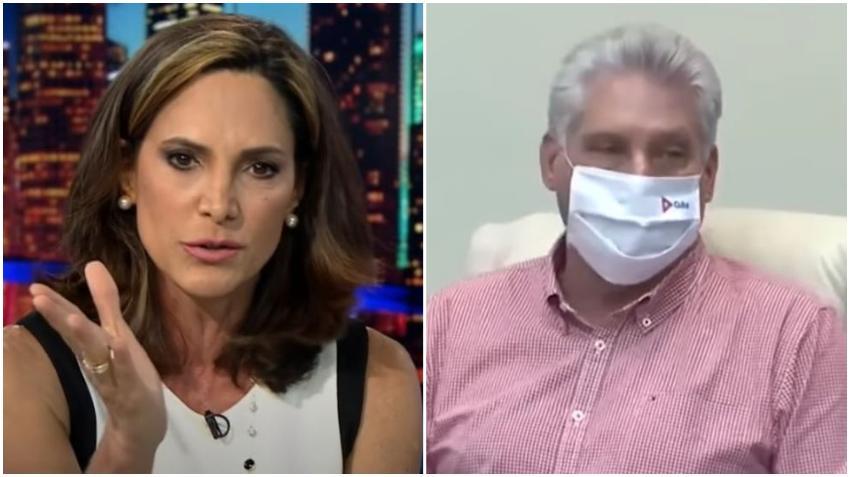 "Congresista cubanoamericana Maria Elvira Salazar contesta a Díaz-Canel: ""¡Seremos libres y ustedes pagarán consecuencias terribles!"""